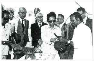 The inauguration of Indonesia Riken on September 1975