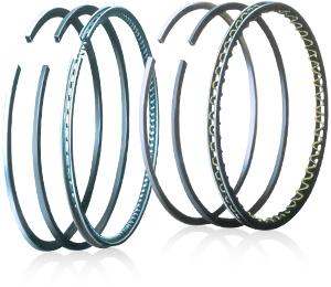 Gasoline engine piston ring sets / Diesel engine piston ring sets